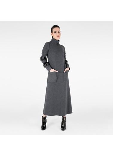 Trend Elbise Gri